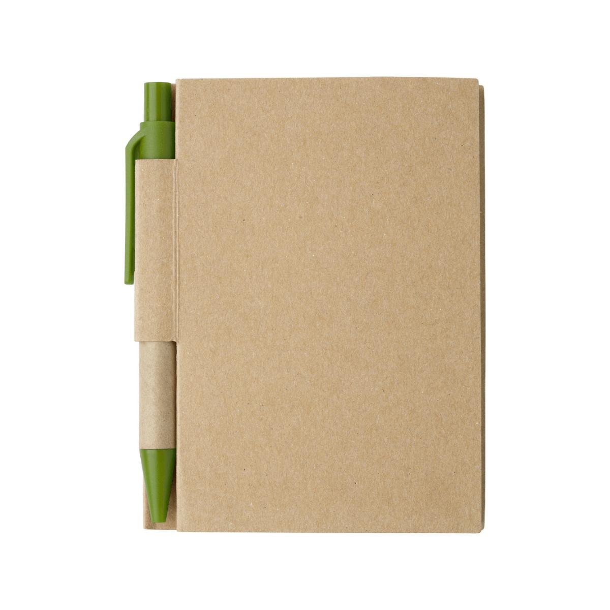 Mały notes z długopisem