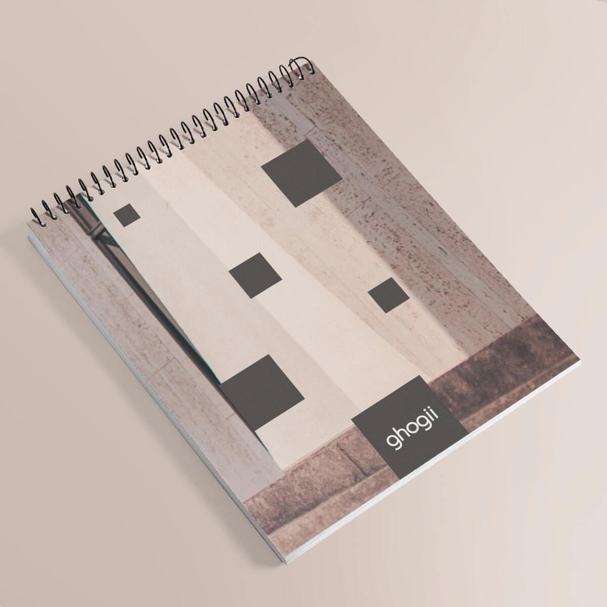 Notatnik spiralowy drukowany