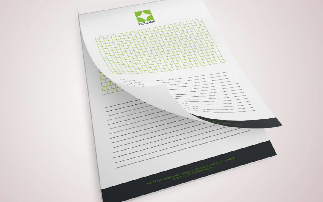 Notatniki klejone dla firm NZLVN01