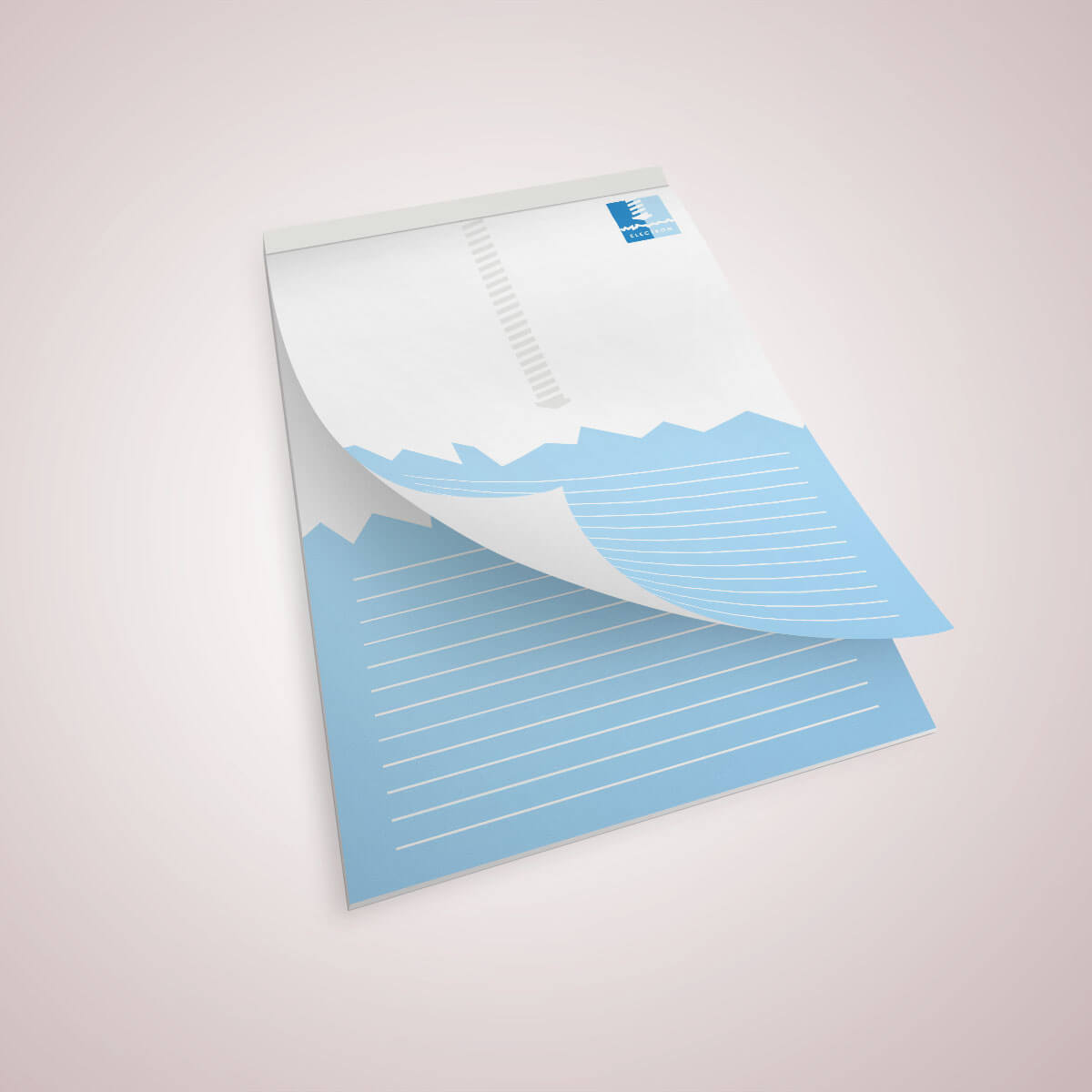 Notesy klejone drukowane