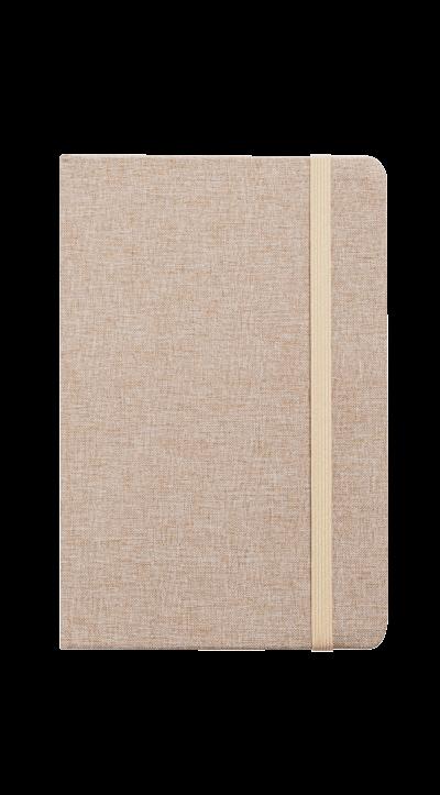 notesy materiałowe z logo firmowym